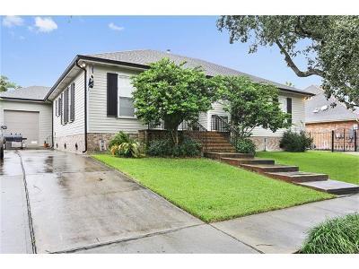 New Orleans Single Family Home For Sale: 1427 Robert E. Lee Boulevard