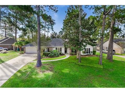 Slidell Single Family Home For Sale: 873 Cross Gates Boulevard