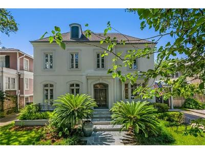 New Orleans Single Family Home For Sale: 310 Audubon Boulevard