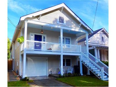 New Orleans Single Family Home For Sale: 344 Audubon Street