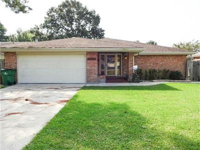 Metairie Single Family Home For Sale: 4816 Sanford Street