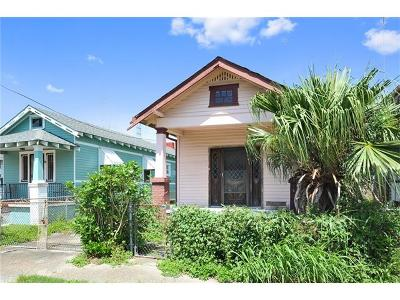 New Orleans Single Family Home For Sale: 1424 Monroe Street