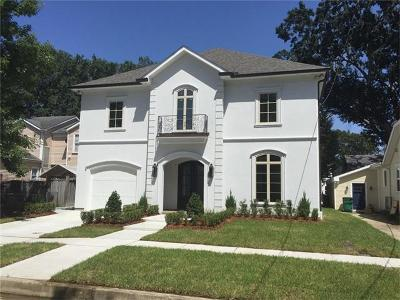 Metairie Single Family Home For Sale: 247 Metairie Lawn Drive