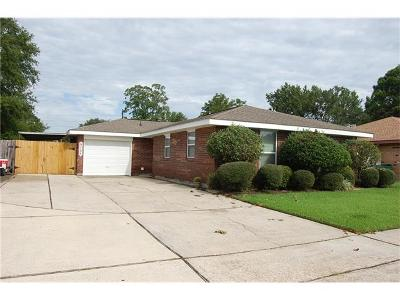 Marrero Single Family Home For Sale: 3124 Kenta Drive