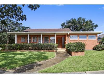 New Orleans Single Family Home For Sale: 7400 Sardonyx Street