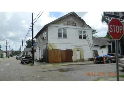 New Orleans Single Family Home For Sale: 2600 Danneel Street