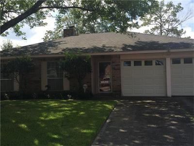 Slidell Single Family Home For Sale: 107 Knights Drive