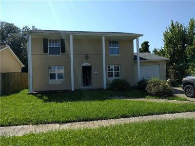 Kenner Single Family Home For Sale: 524 E Louisiana State Drive