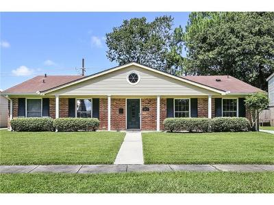 New Orleans Single Family Home For Sale: 3051 Hyman Place