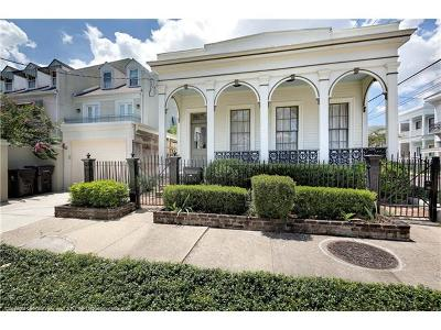 New Orleans Single Family Home For Sale: 1636 Second Street