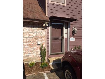 Kenner Townhouse For Sale: 4128 Loire Drive #C