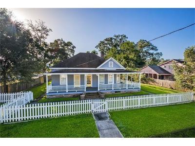 Slidell Single Family Home For Sale: 2942 College Street