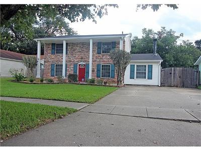 Kenner Single Family Home For Sale: 3206 Ole Miss Drive