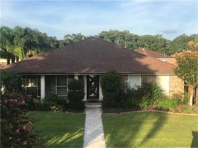 New Orleans Single Family Home For Sale: 7621 E Fieldston Road