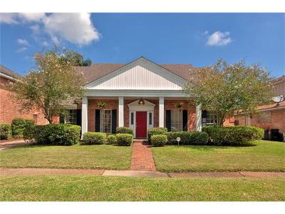 New Orleans Single Family Home For Sale: 3709 Silver Maple Court