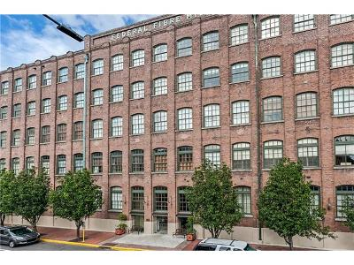 New Orleans Condo For Sale: 1107 S Peters Street #309