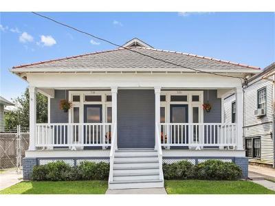 New Orleans Single Family Home For Sale: 718 Upperline Street