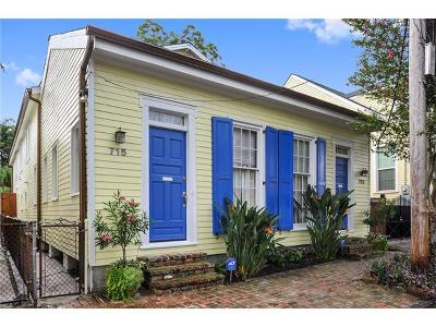 New Orleans Single Family Home For Sale: 713-715 Seventh Street
