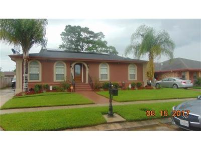 New Orleans Single Family Home For Sale: 4751 Perelli Drive
