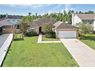 Slidell Single Family Home For Sale: 1021 Andrew Court