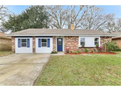 Slidell Single Family Home For Sale: 105 Marin Circle