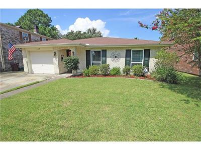 Kenner Single Family Home For Sale: 4329 Indiana Avenue