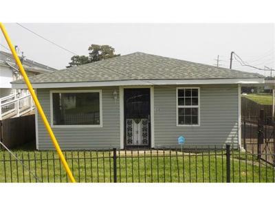 Kenner Single Family Home For Sale: 1630 31st Street