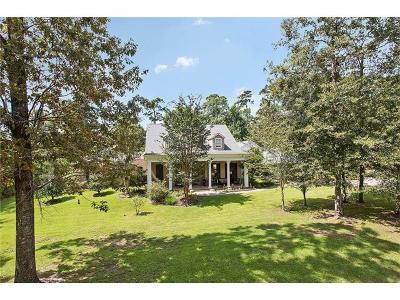 Madisonville LA Single Family Home For Sale: $825,000
