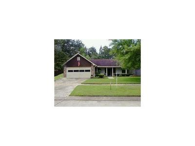 Slidell Single Family Home For Sale: 443 Pine Cone Lane