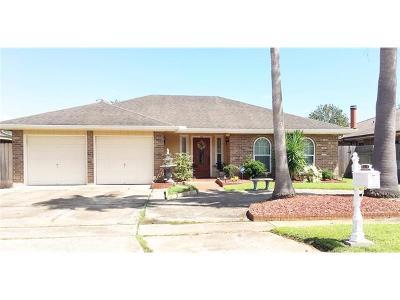 Kenner Single Family Home For Sale: 316 Bertolino Drive