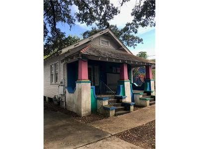 New Orleans Multi Family Home For Sale: 1618 N Dorgenois Street