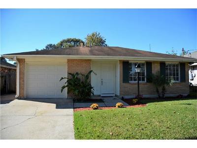 Metairie Single Family Home For Sale: 1608 Pasadena Avenue
