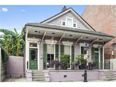 French Quarter Condo For Sale: 823 Burgundy Street #1&3