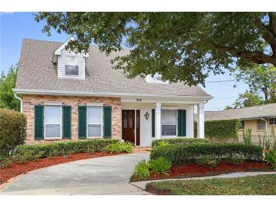 Single Family Home For Sale: 510 Bath Street
