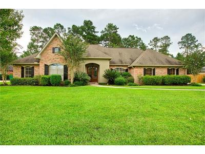 Madisonville Single Family Home For Sale: 205 Le Cirque