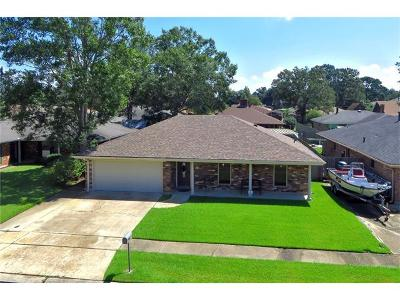 Marrero Single Family Home Pending Continue to Show: 4017 Baudelaire Drive