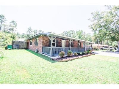 Slidell Single Family Home For Sale: 1301 Tupelo Street