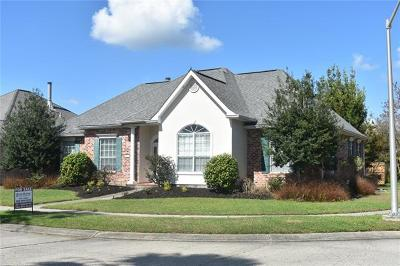 Kenner Single Family Home For Sale: 240 Moss Bayou Lane