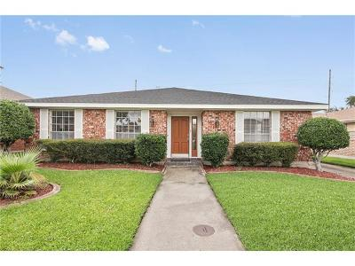 Kenner Single Family Home For Sale: 920 Tavel Drive
