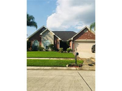 Marrero Single Family Home For Sale: 2576 Sandpiper Circle