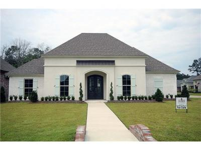 Madisonville Single Family Home For Sale: 1500 Periwinkle Court