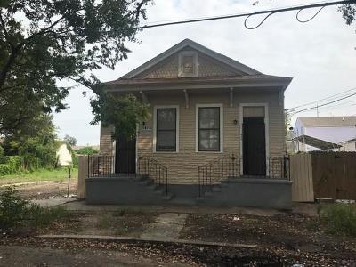 New Orleans Multi Family Home For Sale: 814 N Dorgenois Street
