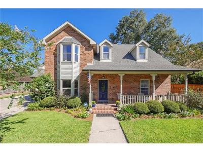 River Ridge, Harahan Single Family Home For Sale: 7211 O'neil Drive