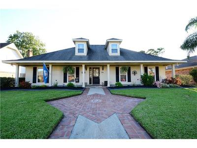 Destrehan Single Family Home For Sale: 14 D'evereaux Drive