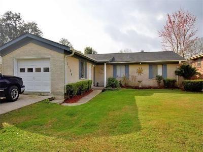 Gretna Single Family Home For Sale: 2128 Esplanade Place