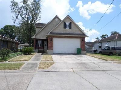 Gretna Single Family Home For Sale: 1108 Kepler Street