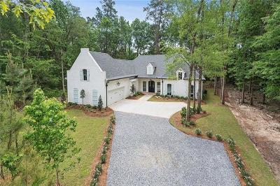 Single Family Home For Sale: 3830 Lonesome Road