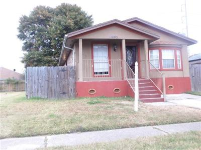 New Orleans LA Single Family Home For Sale: $89,700