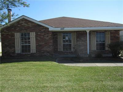 Marrero Single Family Home For Sale: 4317 Still Meadows Court
