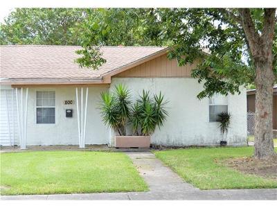 Gretna Single Family Home For Sale: 1100 Isbell Street